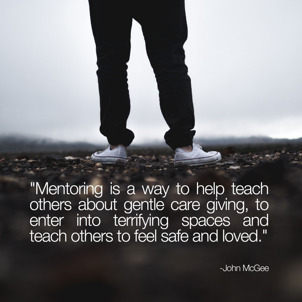 Mentoring is a way to teach others