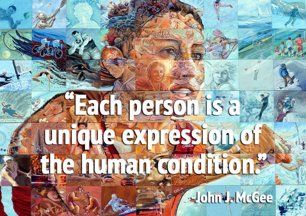 Each person is a unique expression of the human condition