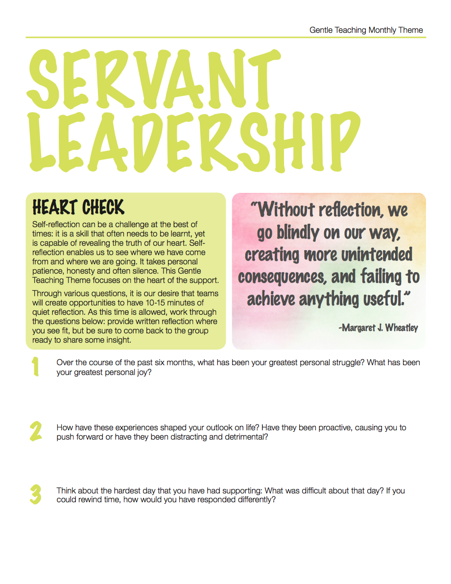 Servant Leadership-1